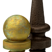 Distressed Finials