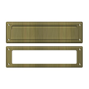 Deltana MS211U26 13 1//8-Inch Mail Slot with Solid Brass Interior Frame