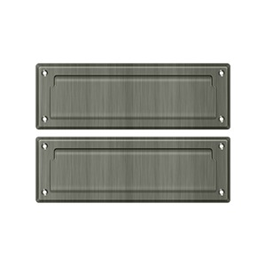 Deltana Catalog - Door Accessories - Mail Slot And Sleeves - Mail Slot 8 7/8\  with Back Plate | deltana.net  sc 1 st  Deltana & Deltana Catalog - Door Accessories - Mail Slot And Sleeves - Mail ...