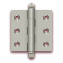 Deltana Catalog - Specialty Solid Brass - Cabinet Hinges | deltana.net